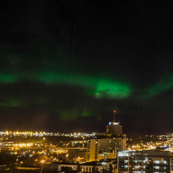 Northern Lights from Hotel
